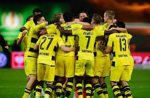 Dortmund gewinnt DFB-Pokal gegen Frankfurt