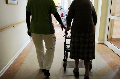 Große Unterschiede im Pflegefall