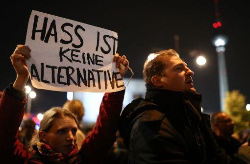 AfD-Gegner demonstrieren in Großstädten