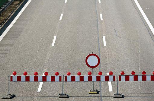 Trotz Sperrung: Autofahrer brettern über die A6 bei Heilbronn
