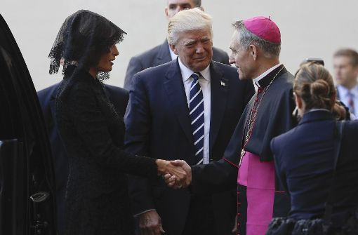 Trump bei Papst Franziskus