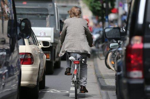Radfahrern in der Stadt soll Spaß machen und sicher sein Foto: dpa