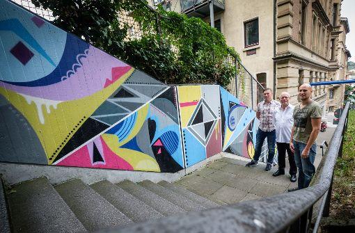 Graffitikunst statt Hochdruckreiniger