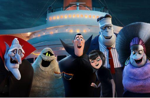 Graf Dracula unternimmt mit Freunden und Familien eine Kreuzfahrt. Foto: Sony Pictures