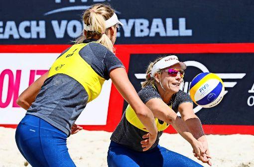 Karla Borger und Margareta Kozuch wollen nur spielen