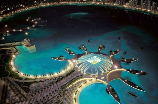 Im Jahr 2022 soll die Fußball-WM in Katar im Winter stattfinden. Foto: QATAR 2022 WORLD CUP BID FILE