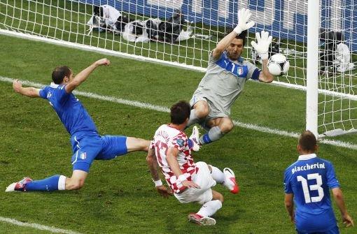 Mandzukic trifft auch gegen Italien