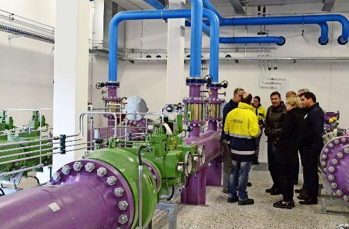 Gas für  den Stuttgarter Kessel