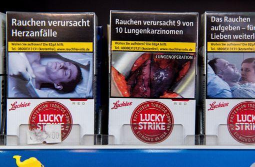 Künftig wird es in den Lidl-Filialen in den Niederlanden keine Zigaretten mehr zu kaufen geben. (Symbolbild) Foto: dpa