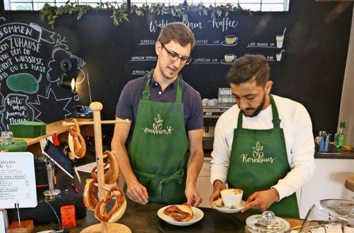 Integration übers Schaffen und die Pasta