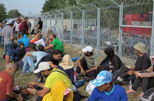 Flüchtling wird von Ungarn verurteilt