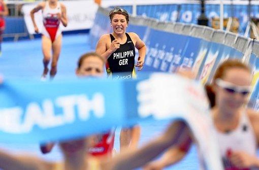 Fünf Sekunden fehlen in London zum ganz großen Glück: Hanna Philippin muss drei Konkurrentinnen den Vortritt lassen. Foto: Petko Beier