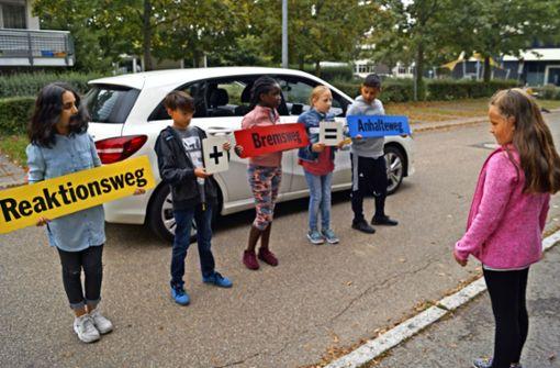 Die Polizei stuft  Schulwege als  sicher ein