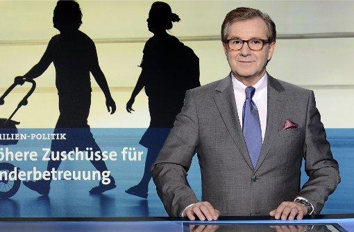 Jan Hofer bricht Moderation ab