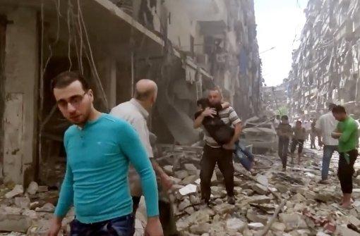 Kämpfe flammen in Aleppo wieder auf
