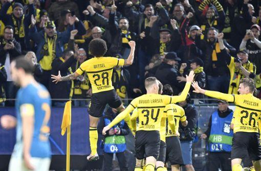BVB schlägt Atlético Madrid deutlich – Schalke holt Remis