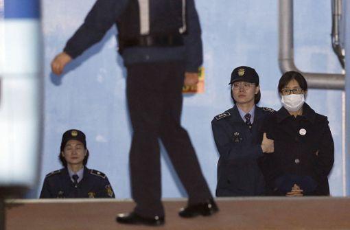 Jahrelange Haft für Vertraute von Ex-Präsidentin Park