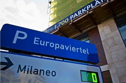 Der Suchverkehr der Milaneo-Kunden trifft das benachbarte Quartier hart. Foto: Lichtgut/Max Kovalenko
