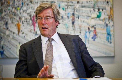 Regionalpräsident Thomas Bopp Foto: Peter-Michael Petsch