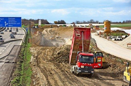 Die ICE -Trasse wird weiteren Lärm nach Denkendorf bringen. Foto: