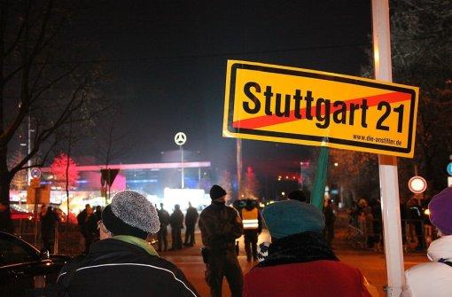 S-21: Merkel soll Protest spüren