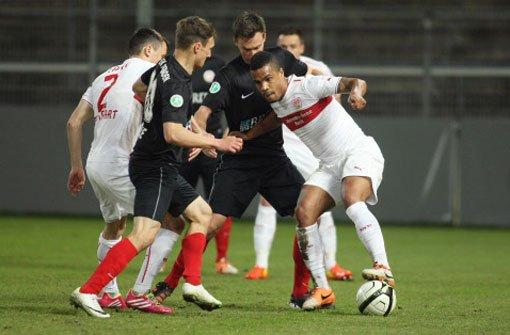 Nur 1:2 gegen SV Wehen Wiesbaden