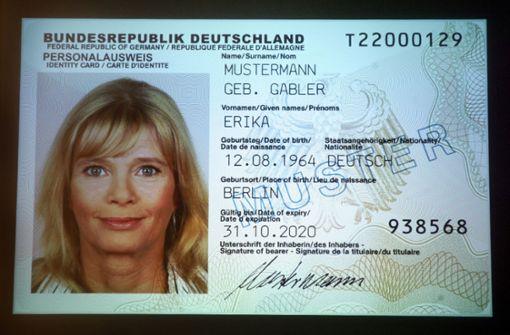 Online-Funktion beim neuen Personalausweis kaum genutzt