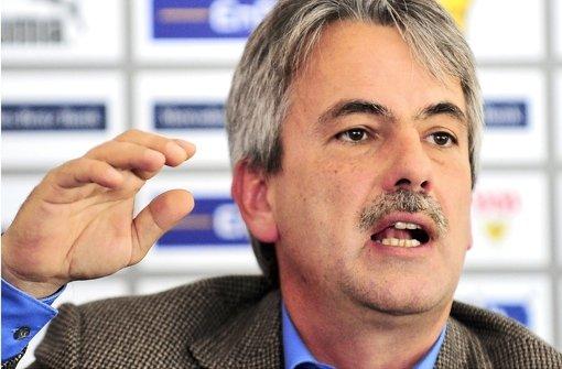 Der Rückhalt für Präsident Gerd Mäuser ist in den Reihen des VfB Stuttgart nicht eben groß. Foto: dpa