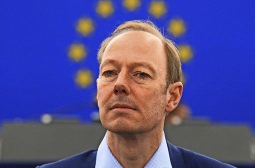 """Martin Sonneborn, Chef und Gründer der """"Partei"""" und Europa-Abgeordneter. Foto: dpa"""