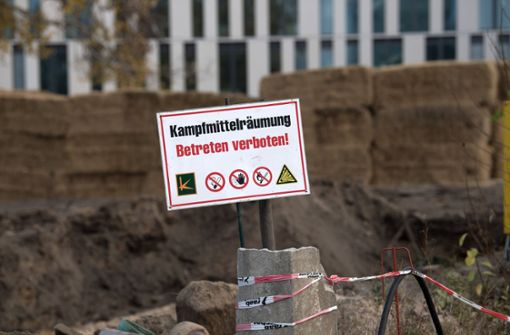 500-Kilogramm-Bombe entdeckt
