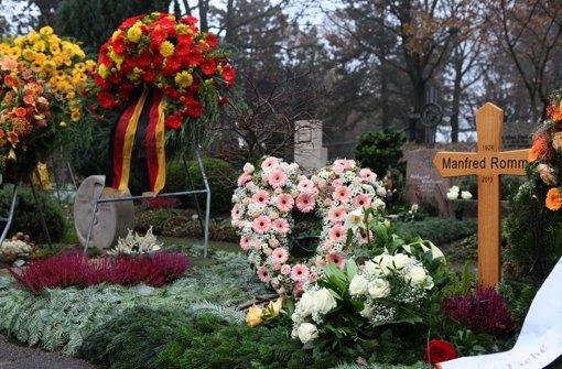 Rommel in seiner letzten Ruhestätte