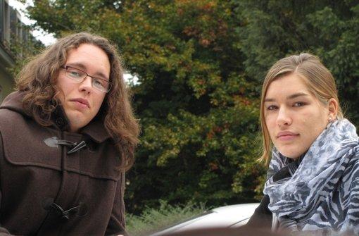 Jonas und Ann-Marie entschieden sich für eine Ausfahrt ins Berufsleben. Foto: Sägesser