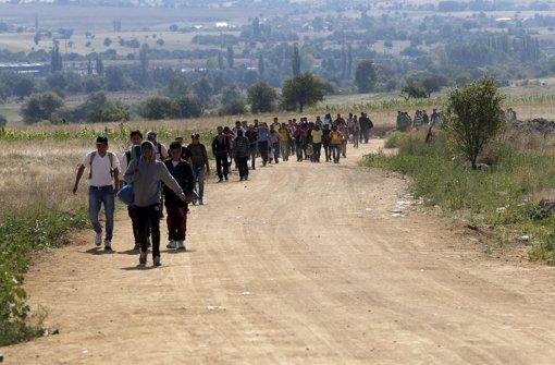 Tausende Flüchtlinge in Serbien angekommen