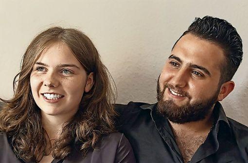 Malvina und Diaa, die Protagonisten einer umstrittenen Dokumentation im Kinderkanal Foto: KiKa