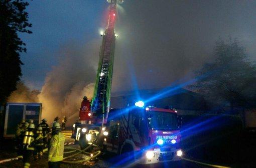 Schreinerei Esslingen neckartenzlingen fünf verletzte bei feuer in schreinerei und