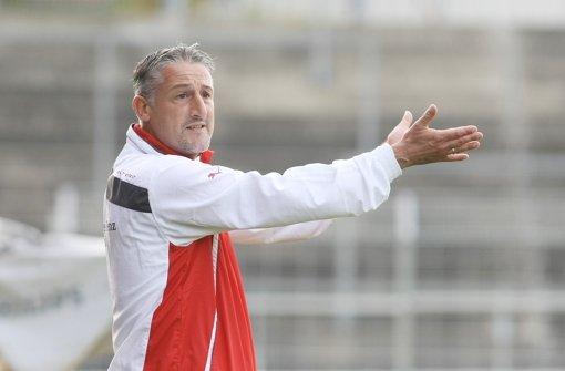 Kickers-Trainer Jürgen Kramny. Foto: Pressefoto Baumann