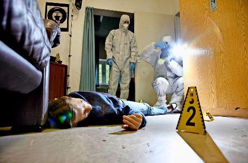 Mikroben verraten die Täter