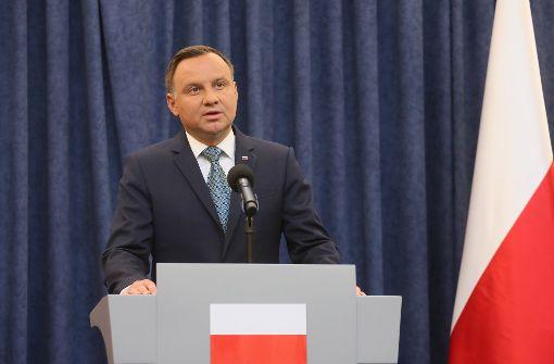 Präsident Duda legt Veto gegen Justizreform ein