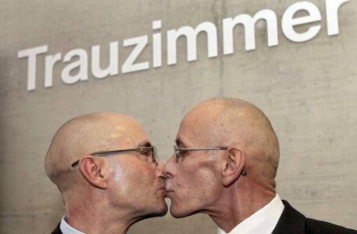 CDU will Homo-Ehe nicht belohnen
