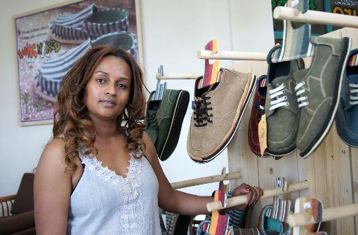 Selbstständige wie der Unternehmerin Bethlehem Tilahun Alemu aus Addis Abeba könnten von einer Handelskammer profitieren. Die IHK Reutlingen hilft beim Aufbau. Foto: dpa