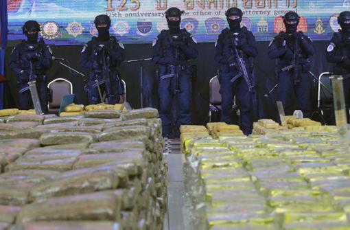Drogen für 23 Millionen Euro beschlagnahmt