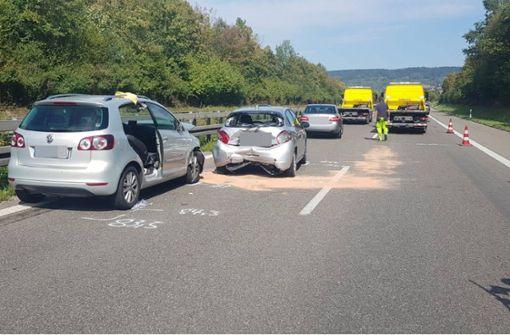 20 Kilometer Stau nach einem Unfall mit vier Verletzten