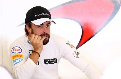 Steiniger Weg für Fernando Alonso