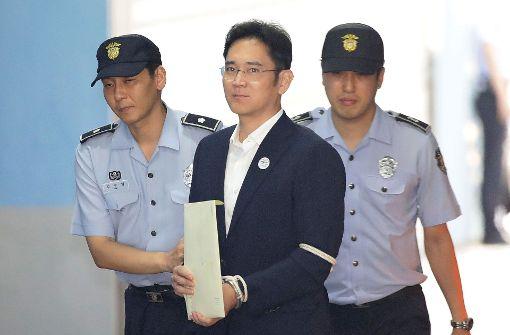 Verurteilter Samsung-Erbe will Urteil nicht hinnehmen
