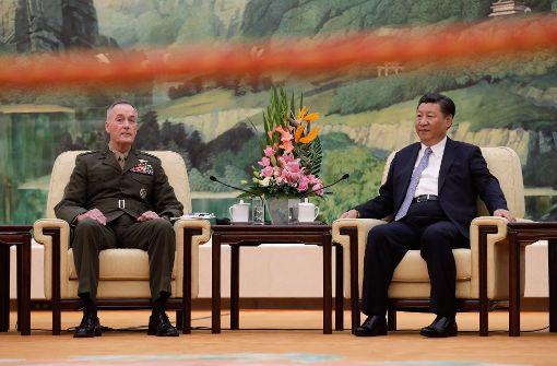 US-Generalstabschef hält an Militärmanövern mit Südkorea fest