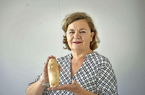 Geschätzte Frau aus der Jungsteinzeit