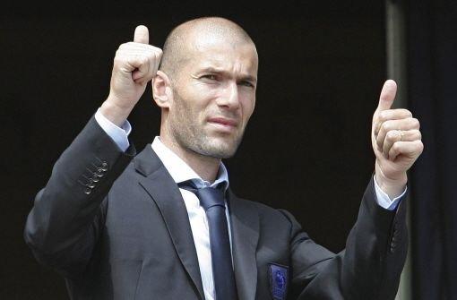 Zinédine Zidane wird Manager
