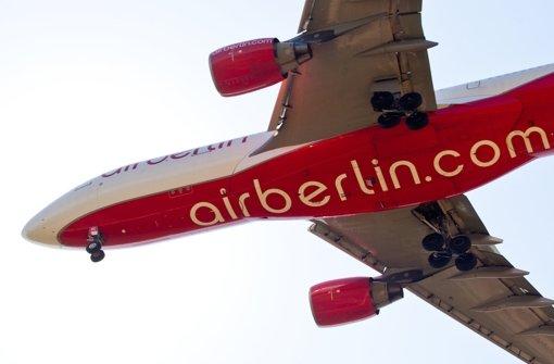 Air Berlin ändert sein Streckenangebot am Stuttgarter Flughafen. Foto: dpa