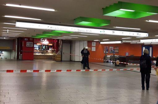 Polizeiposten wegen verdächtigem Gegenstand abgesperrt
