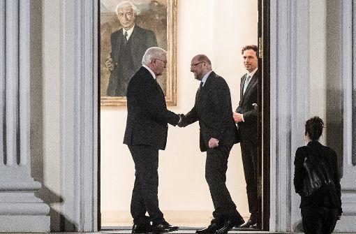 Gespräche beim Bundespräsidenten beendet